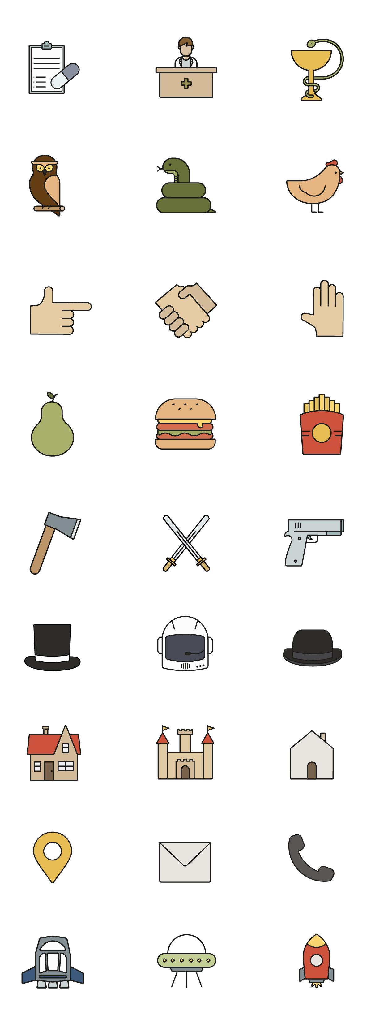 diseño iconos